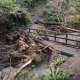Glentui River Bridge Flood Damage